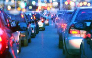 rush hour traffic in Memphis