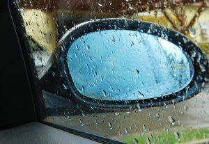 Rainy Mirror in Memphis