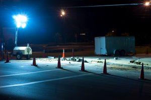 Road Work Construction In Memphis